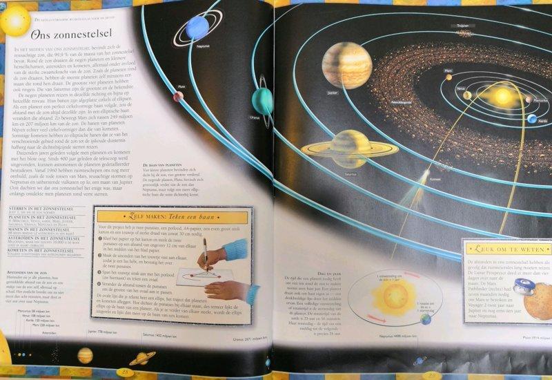 foto boek zonnestelsel